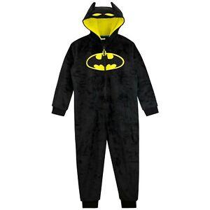 DC Comics Batman Sleepsuit| Boys Batman One Piece | Kids DC Comics Pyjamas