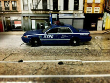 GreenLight 2008 Ford Crown Victoria NYPD Auxiliary1/64 police CAR