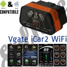 OBD2 OBDII Vgate iCar2 ELM WIFI SCANNER ANDROID IOS 8 9 10 TORQUE IPAD AIR PRO