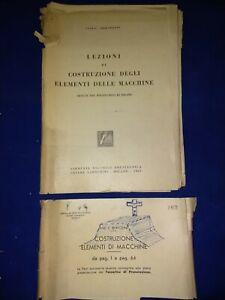 Lezioni Di Costruzione Degli Elementi Delle Macchine Bertolini Tamburini 1947