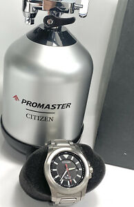 CITIZEN Eco-Drive Men's Promaster Date Silver tone WATCH 42mm Watch E168-S116082
