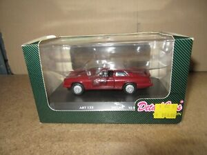 154Q DetailCars Collection Art.133 Jaguar XJR-S Coupé Rouge 1:43 Neuf + Boite