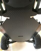 Losi  DBXL-E 1/5 Scale...Chassis Skin Protector...3D Textured Carbon Fiber.. New