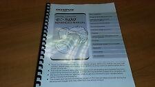 Olympus E-500 Cámara Digital Manual de instrucciones impreso Guía de usuario 216 Páginas