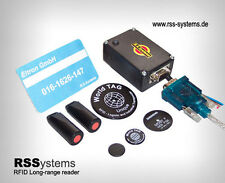 RFID LONG-RANGE READER KIT , LR70-232, +12V, RS232, LOW COST