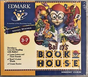 Bailey's Book House Pc New Cd Rom Only Sealed In A Paper Sleeve Win10 8 7 XP