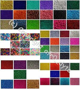 🎀 3 FOR 2 🎀 100 Pony Beads in Different Colours & Finishes 9x6mm Barrel Shape