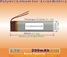 3.7V 200mAh [551040] Polymer lithium ion / Li-ion battery / LiPo Batteries