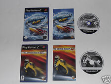 SPEEDBOAT GP & SUPERBIKE GP for PLAYSTATION 2 'VERY RARE & HARD TO FIND'
