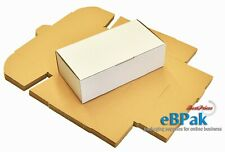50x Mailing Box 240x125x75mm Shipping Carton for Auspost 500g Small Satchel