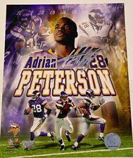 Adrian Peterson Autographed Minnesota Vikings Rookie 8x10 Photograph