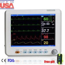 Hospital ICU Vital Signs Patient Monitor 6 Parameter ECG/NIBP/SPO2/TEMP/RESP/PR
