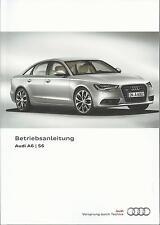 AUDI A6 S6 Limousine / Avant / A6 Hybrid C7 Betriebsanleitung 2014 Handbuch  BA
