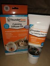 Thunderease Cat Calming Diffuser kit paw gel lot New pheromones reduce anxiety