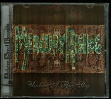 Mercury Rising Under A Big Sky CD new private indie metal reissue of 1991-92