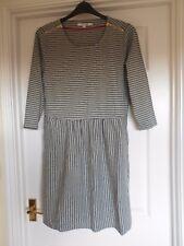 BODEN BNIB Janie Dress - Grey/Navy Stripe - UK 20 R