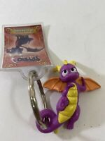 2007 Spyro the Eternal Night Cynder Wendy's Restaurant Keychain Promo