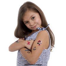 32 Kindertattoos Piraten Tattoo Set - 32 Piraten Kinder Motive - No China