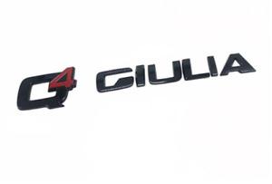 Q4 Giulia Alfa Romeo Car metal letter decoration label exterior accessories