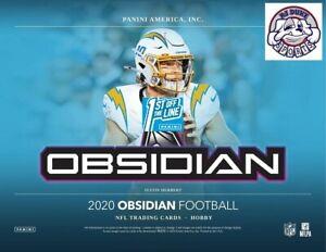 Barry Sanders 2020 Panini Obsidian First Off The Line Case 12Box Break