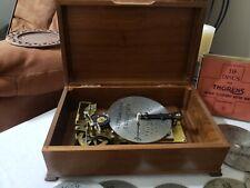 Antique Thorens Ad30 D Automatic Music Box/ 16 Disc ( Circa 1930'S Switzerland