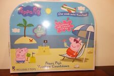 Peppa Pig Vacation Countdown Calendar With Toys Surprises Each Day For A Week