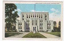 Court House Longview Texas 1943 postcard