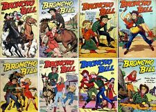 1947 - 1950 Broncho Bill Digital Comic Books - 10 eBooks on CD