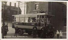 Bradford. Trackless Cars 1911. Trolley Bus.