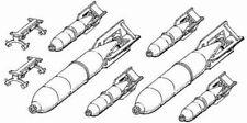 CMK Czech Master Russian bombs WW II FAB 100, FAB 250 1/48 scale resin kit 4027