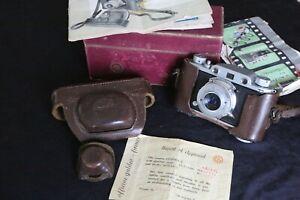 FERRANIA - GALILEO FIRENZE 'CONDOR 1' 35mm RF film camera, Case,Box,Instructions