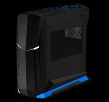 Silverstone SST-RVX01BA-W (black with blue trim + window) MATX/ATX Case