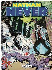 NATHAN NEVER N° 21 - DELIRIO - prima edizione