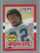 1985 Topps USFL Marcus Dupree