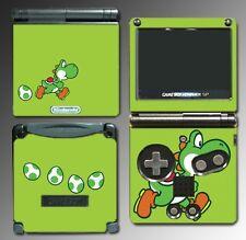 Yoshi Special Edition Super Mario Bros Egg Game Decal Skin Cover Nintendo GBA SP