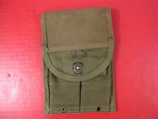 Korean M1 Carbine OD Green Canvas Magazine Pouch 30 Rd Mags - Rigger Modified