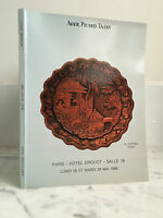 Catalogue de vente Ader Picard Tajan Salle n°16 Drouot 29 Mai 1990