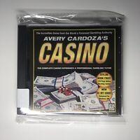 Avery Cardoza's Casino Complete Experience (PC, 2000) CD IBM Windows 65 Game