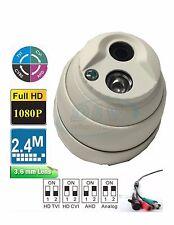 2.4Mp Hd-Tvi/Cvi/Ahd Matrix Ir 1080p Hd Outdoor Dome Security Camera 3.6mm