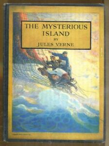 The Mysterious Island by Jules Verne-1951 Edition with N.C. Wyeth Illustrations