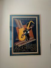 1979 New Orleans Jazz and Heritage Festival poster.