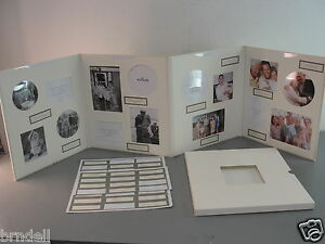 HALLMARK 16 PHOTO PICTURE FAMILY ALBUM SCRAPBOOK CAPTIONS 4 WAY DISPLAY BOOK