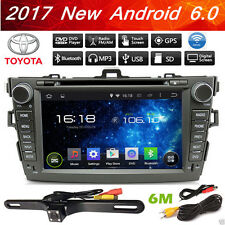 For Corolla 2007 2008 2009 2010 2011 Android 6.0 Car Radio GPS DVD Stereo Radio