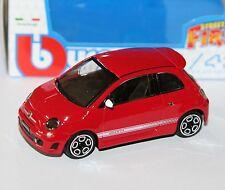 Burago - FIAT 500 ABARTH (Red) - 'Street Fire' Model Scale 1:43)