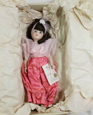 "LIMITED EDITION MARJORIE SPANGLER DOLLS ""JACQUELYN"" 98/400 PORCELAIN DOLL in box"