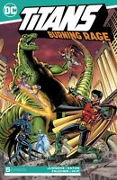 Titans Burning Rage #5 DC Comics 1st Print 2019 unread NM