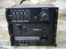 VENUS 3000 Stereo Autoradio mit Cassette Graphic Equalizer Booster Made in Japan