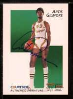 Artis Gilmore Card 1992 Courtside Flashback Autographs #11