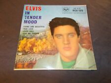 """ELVIS PRESLEY Elvis In Tender Mood EP 45 RPM 7"""" Picture Sleeve UK VG+"""