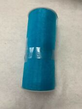 "6"" Organza Roll Spool Wedding Bow Sash Decoration Craft 25 Yards Blue"